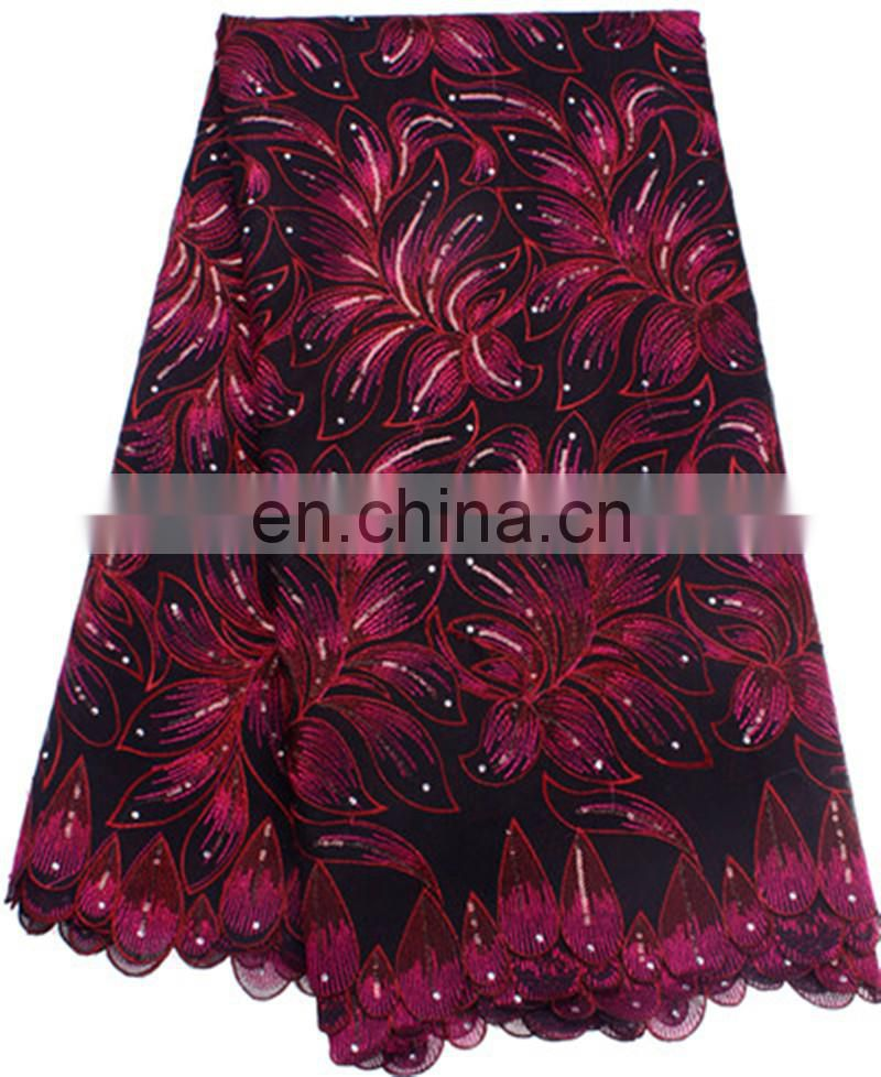 wholesale swiss voile lace with sequins for wedding in 2014