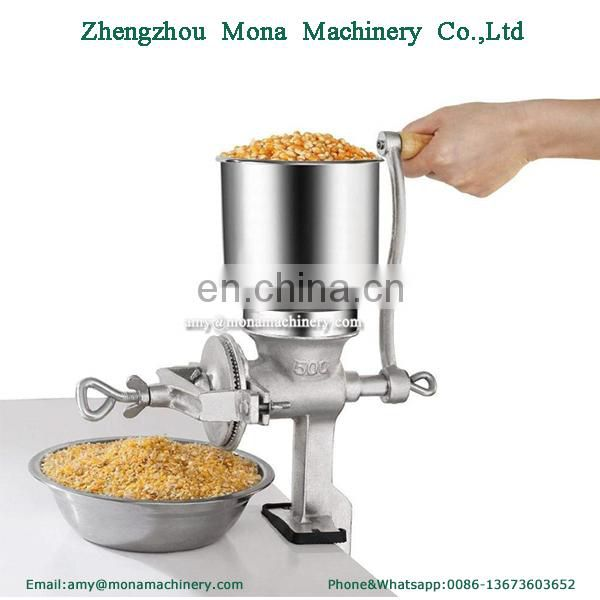 Manual Cast Iron Corn Nuts Grain Mill Grinder Wheat Coffee Soybeans Grinder