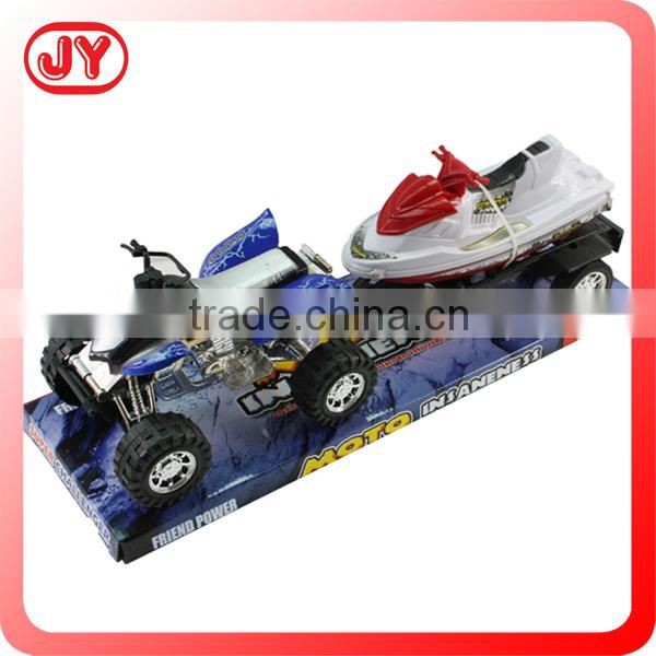 Big wheel toy car friction powered car for sale