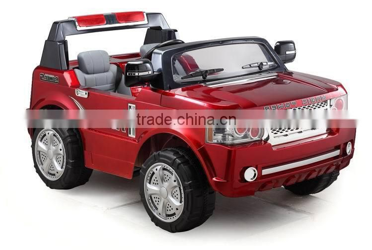 Best gift land rover ride on toys for twins JJ205 with two seats ride on car