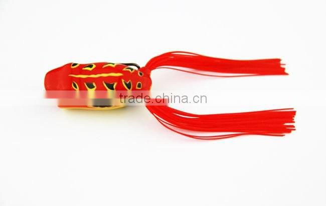Popular Depth 0.5-1.5m Size 14g13cm Soft Frog Fishing Lure