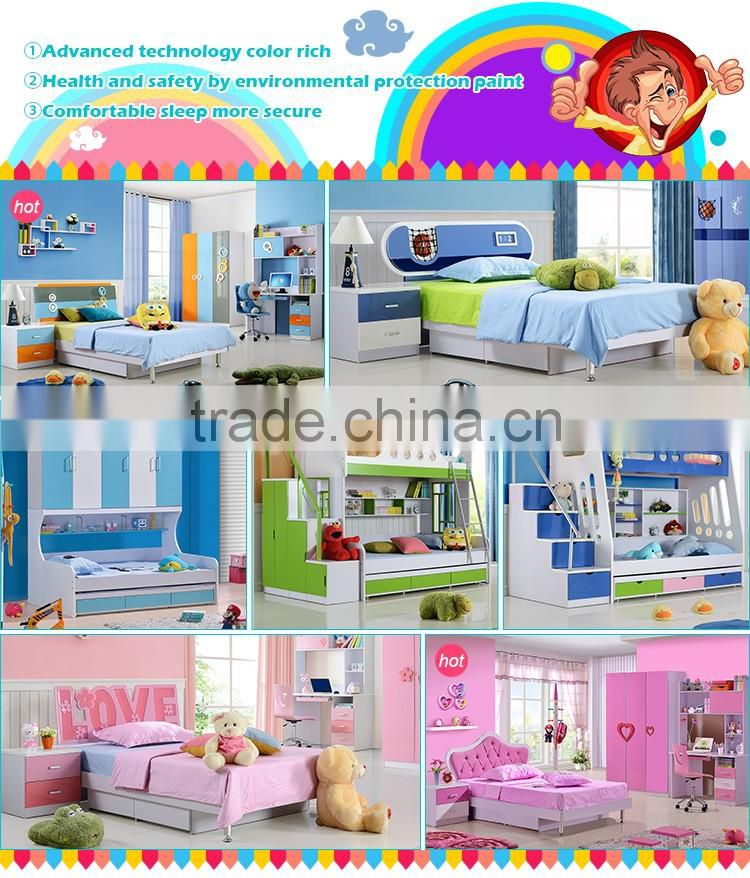 High quality factory price preschool solid wood bed kids car beds for sale, kids truck bed