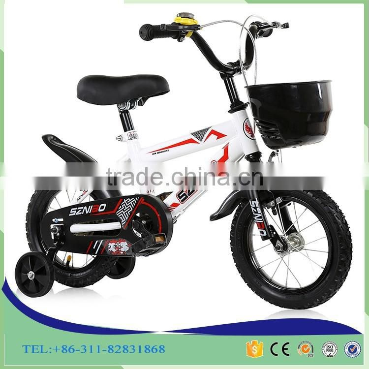 "12' 14'16"" kids bike factory colorful steel 4 wheel bicycle children for 4-10years old child"