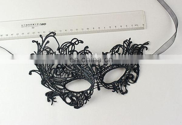 Wholesale Custom Bar Holiday Articles Lace Halloween Mask