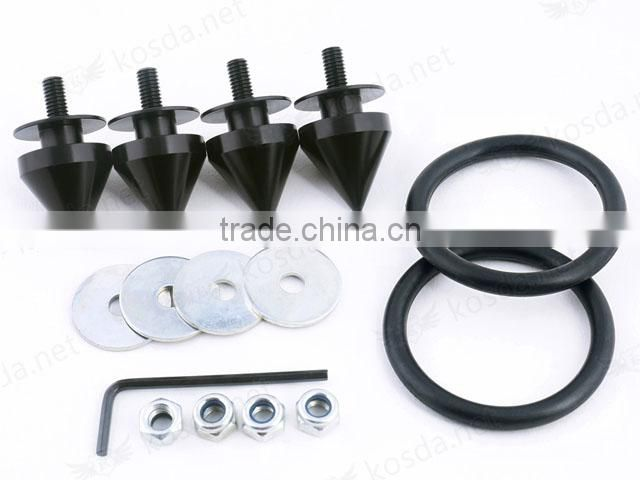 Aluminum rear bumper car clips and fasteners, Quick Release Fasteners for Bumper car building