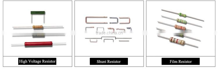 5 band Color coding 1/4W 1W Metal Film Fuse Resistor of Film