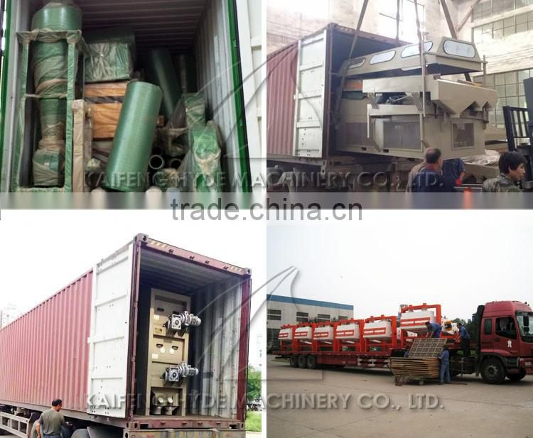 10T Wheat grain cleaning machine for wheat store