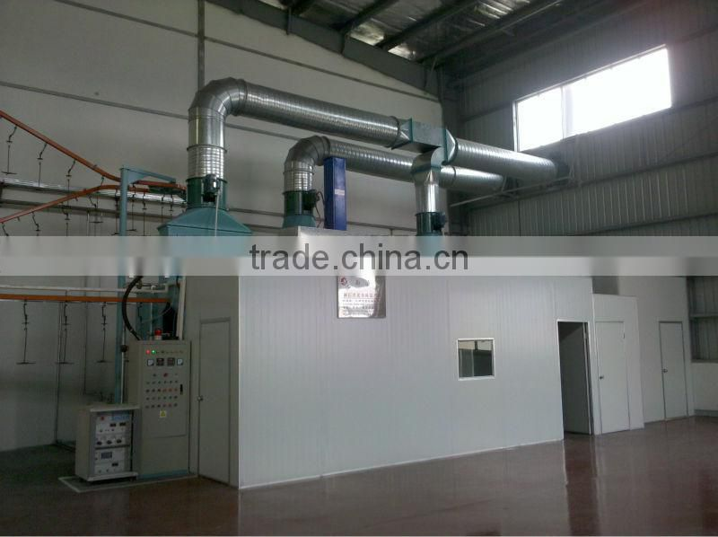 wire hanger coating production line