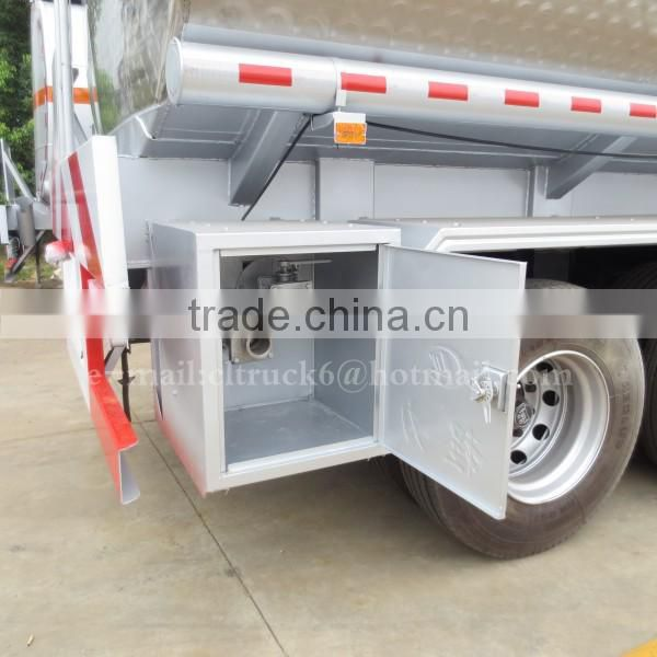 CLW 3 axles Aluminum Alloy semi trailer 55000L