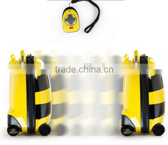 2015 new design RASTAR novelty remote control automatic trolley bags for kids