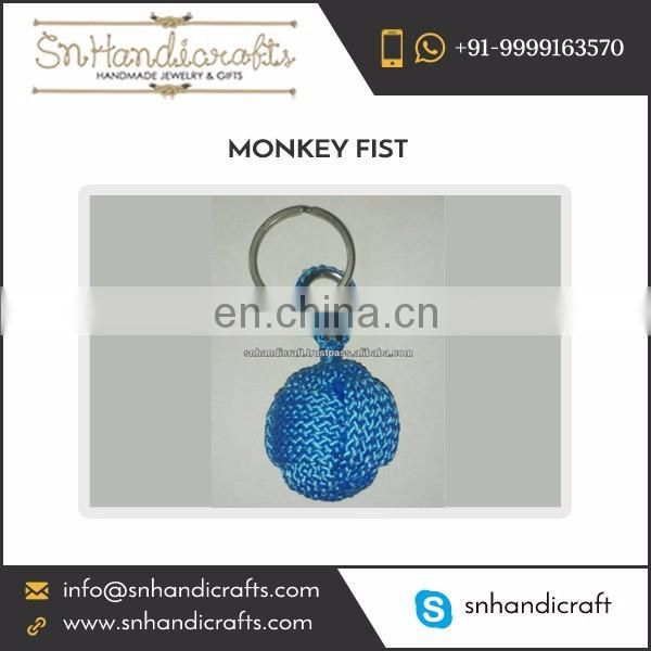 Precisely Designed Top Grade Quality Monkey Fist Nautical Rope Keychain
