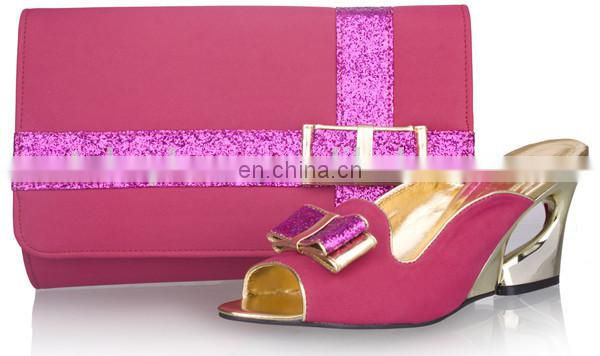 2014 African party shoes and matching bags