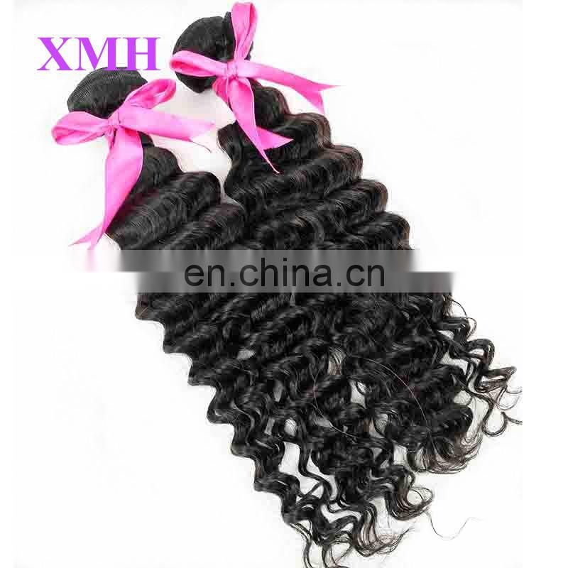 Large stocks for fast delivery Aliexpress High quality bohemian curl human hair weave