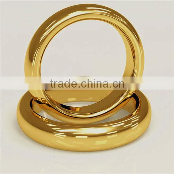 pure gold plated tungsten ring