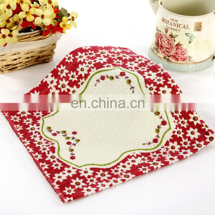 china supplier wholesale thin 100% cotton printed hand towel