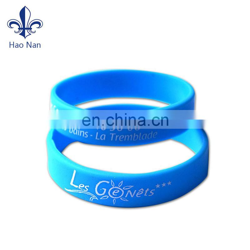 various Excellent custom silicone wristbands for soprt