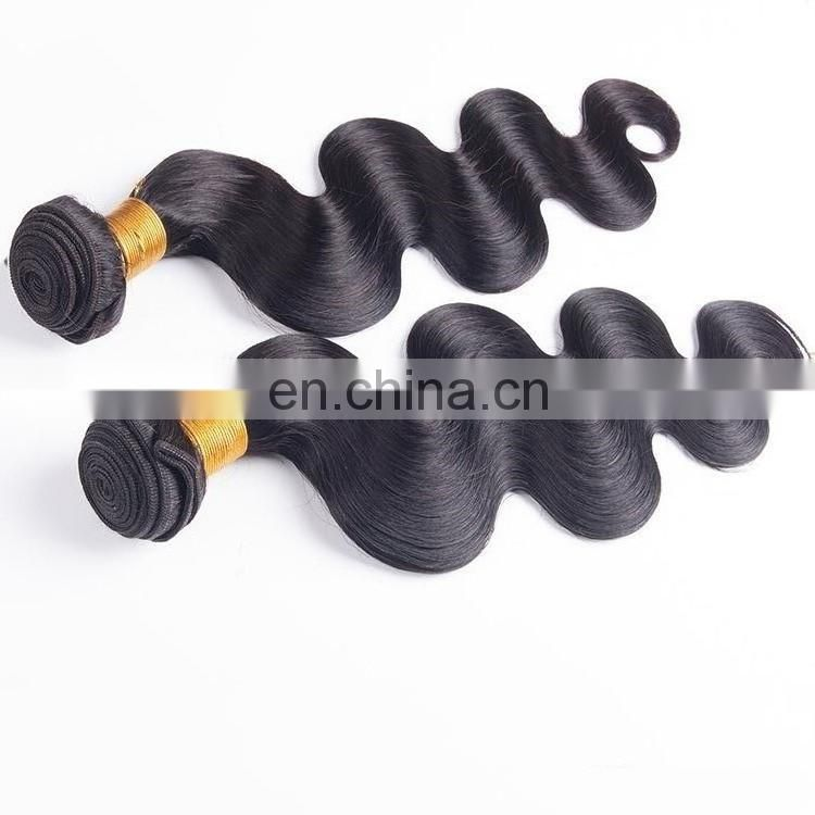 Wholesale body wave virgin brazilian hair extension