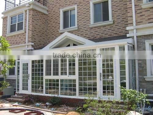 Wood mullion-transom system french casement window