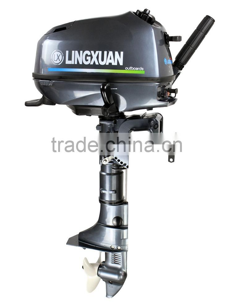 CE Approved 4 Stroke 5HP Outboard Engine of LINGXUAN