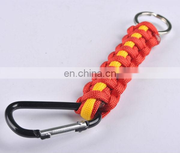new design adjustable corlorfull Military hiking survival bracelet