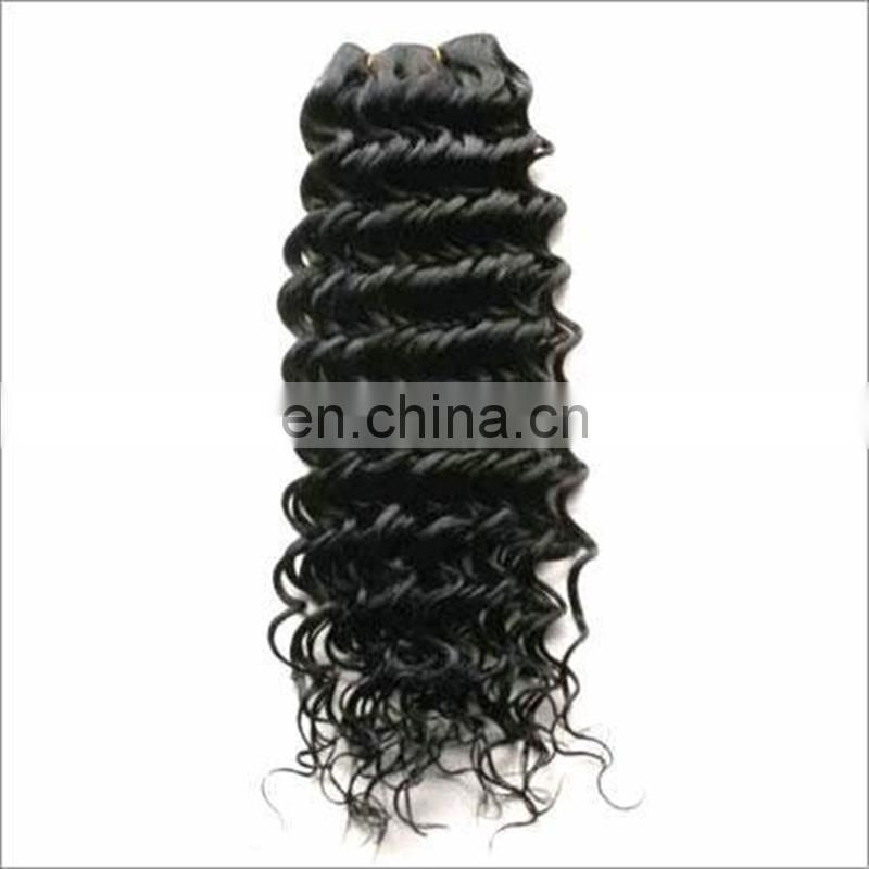 Top quality malaysian hair weaving cheap price deep curly human hair 100 real human hair extensions