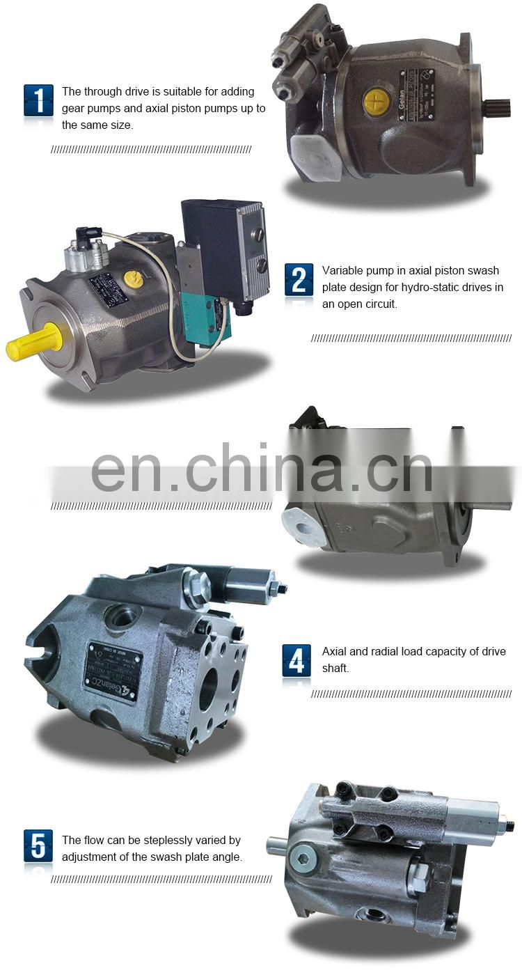 Hydraulic pump for metallurgical machinery