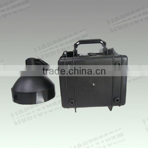 Guangzhou factory 35w 55w heavy duty portable HID xenon moving light ,rechargeable cordless spotlight