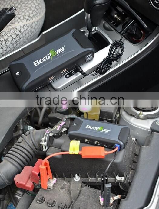 12000mah capacity 12V quick super start type mini emergency auto car jump starter K3 model
