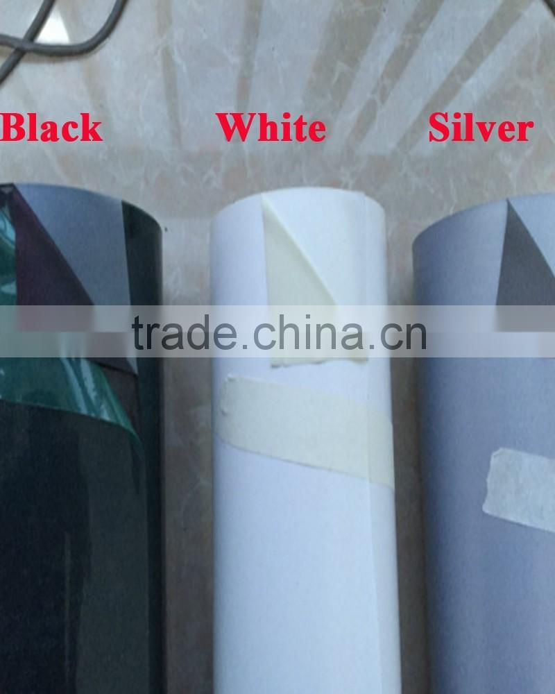 Silver Reflective Heat Transfer Vinyl for Clothing , wholesale traffic Road Safety Reflective breathable T Shirt Vinyl