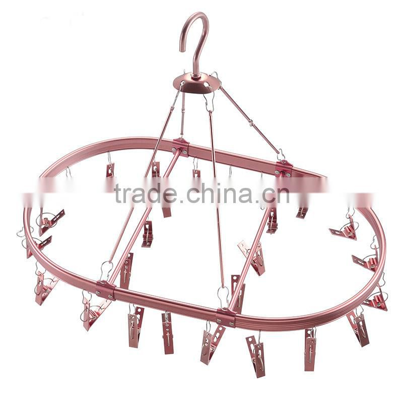 Metal Scarf Hanger With Holes Hanging Ring Scarf Hangers Displays Popular Round Scarf Hanger With Hooks