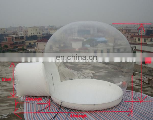 Hot sale Inflatable Clear tent with door for different events