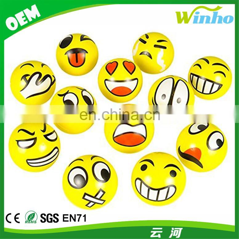 Winho Squeeze Emoticon Stress Reliever Balls
