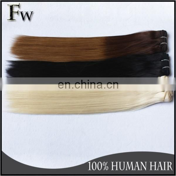 Golden perfect double drawn wholesale all types of weavon russian remy hair extensions