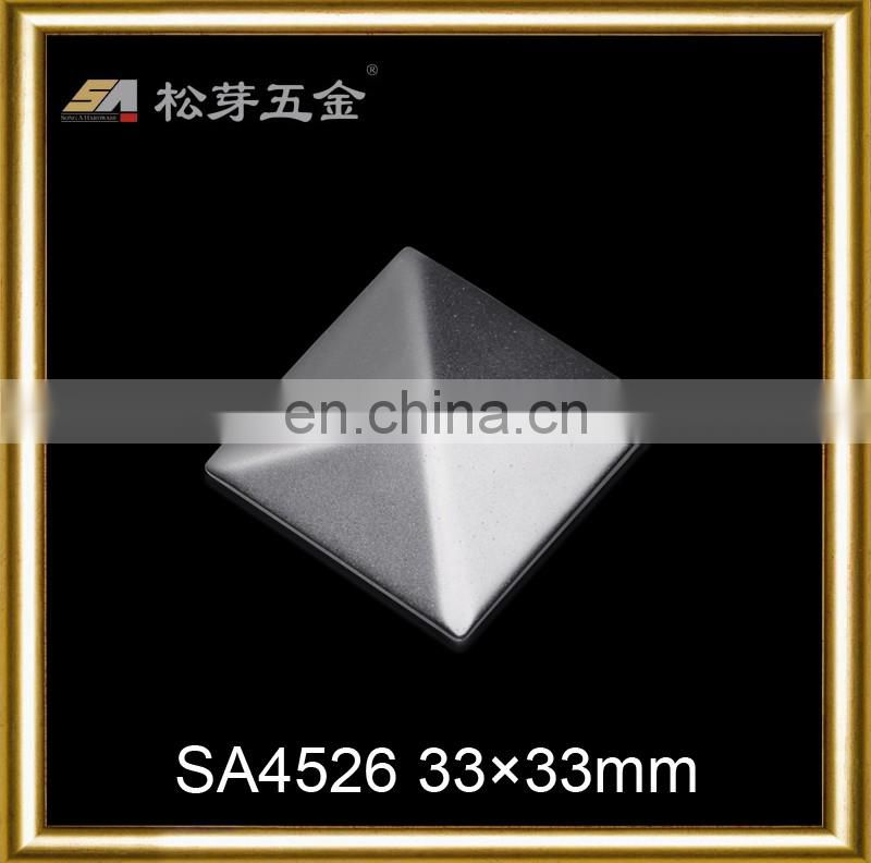 Fashion reasonable price metal decorative square rivets for bag