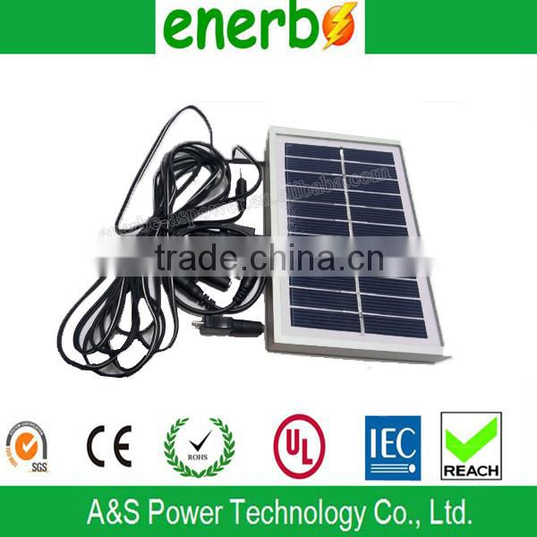 High Quality 0.5w Solar Panel making Machine Solar Panel Light with four Modes Setting and Mobile Phone Charger and USB Slot