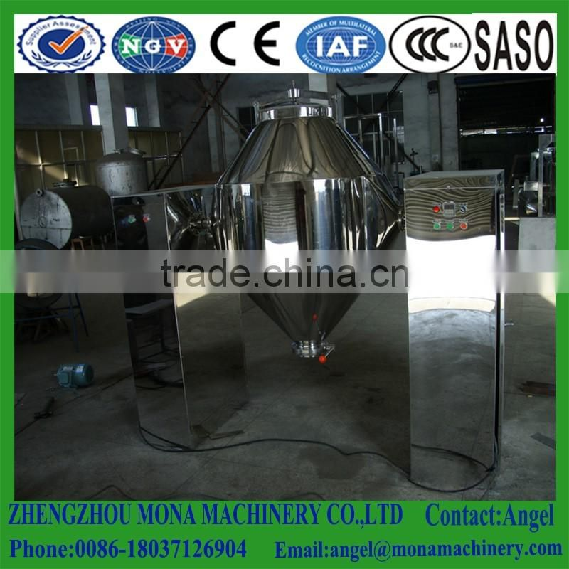 stainless steel double cone screw blender,stainless steel chemical powder mixer machine