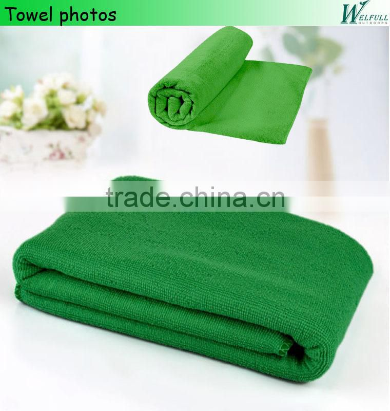 microfiber sports towel for exercise, yoga, fitness