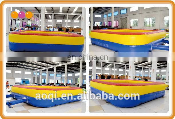 AOQI new design inflatable interactive gladiator games for adults