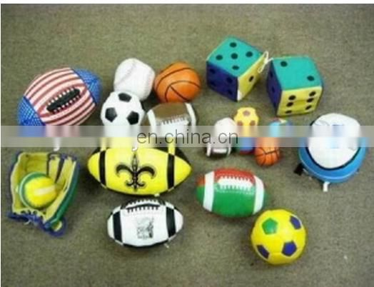 juggling balls with soccerball Volleyball ball Footballs - Hacky Sacks stuffed plush train toy
