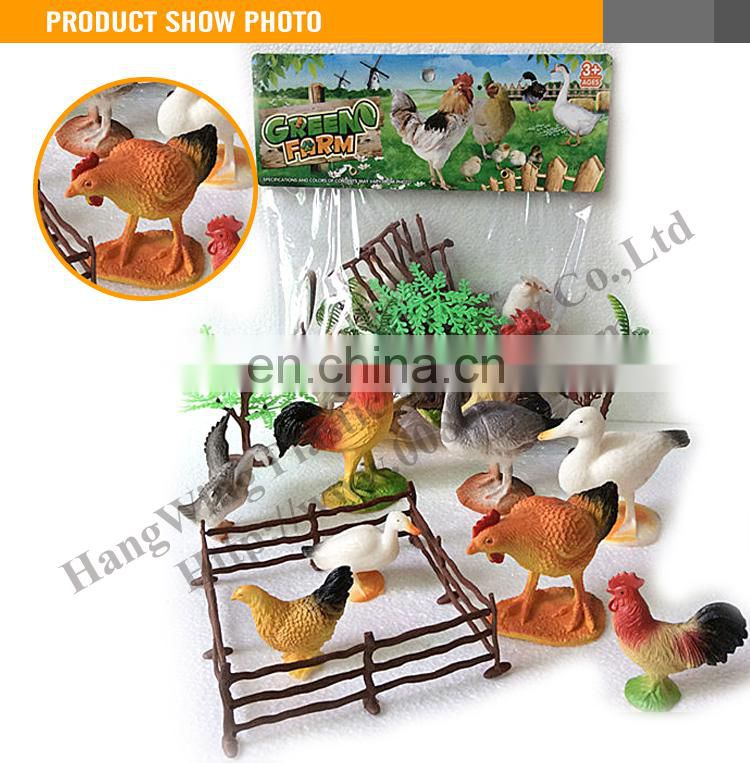 Cheap plastic farm animal toy