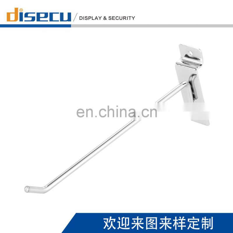 Supermarket Slatwall Dispaly Hook shelf metal hooks For Display