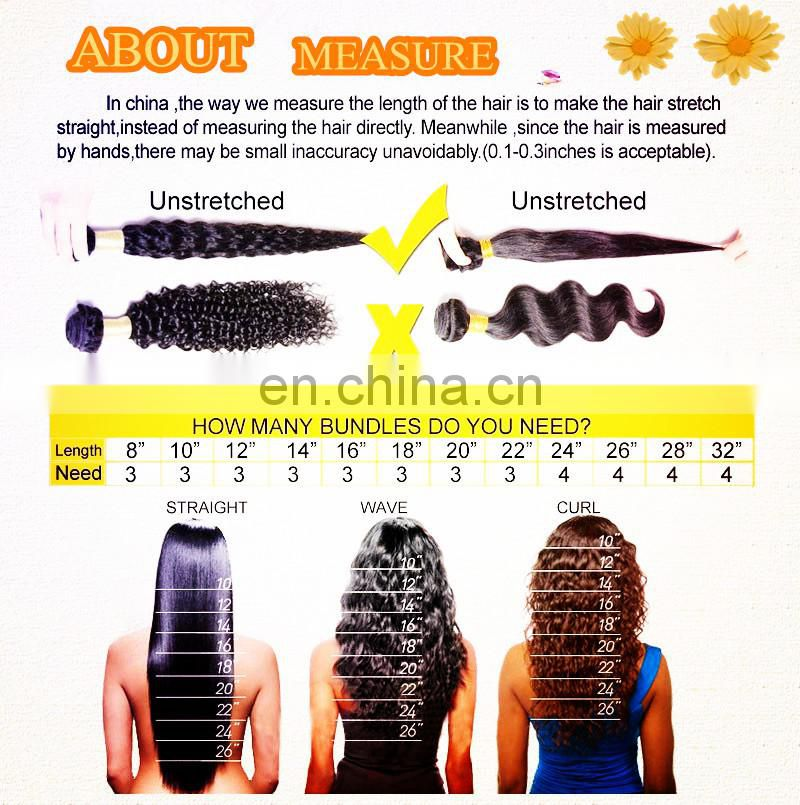 Your Own Brand Hair 7A Peruvian Virgin Hair loose wave