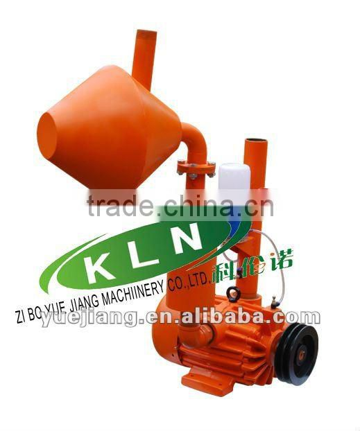 XP1200L rotary vane vacuum pump used on milking parlor