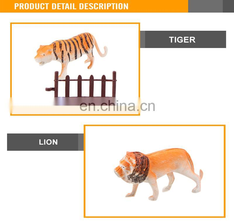 (Cheetah elephant giraffe lion) Cheap Wild World Plastic Animal Toys For Kids