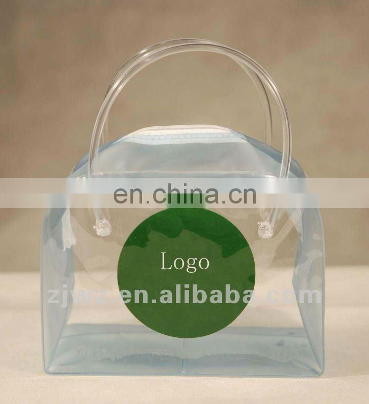 transparent pvc packing bag