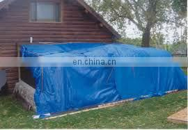 20' X 25' Large Blue Multi-Purpose 6-mil Poly Tarp for roofs, Trucks, RV Cover 20x25 Waterproof Construction Grade Tarpaulin