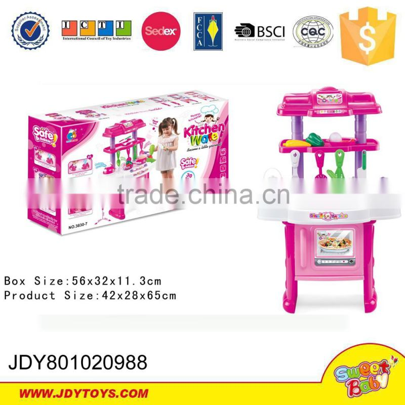 Kitchen appliance for kids cooker toys plastic kitchenware with vegetable