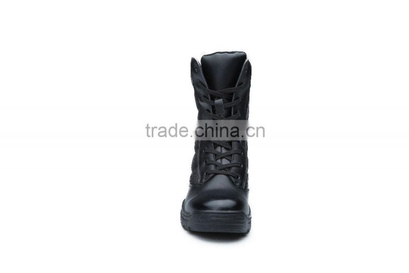 2016 new style military boots can with steel toe cap safety shoes type combat boots military boots