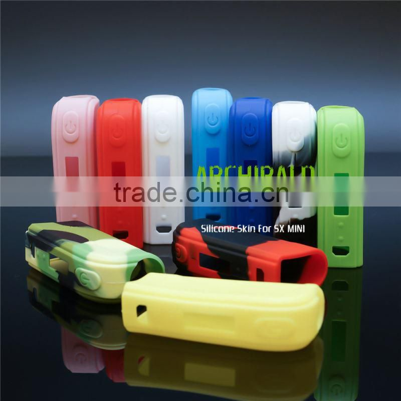 Colorful 30ml e liquid bottle carrying case food grade silicone bottles cover with lanyard