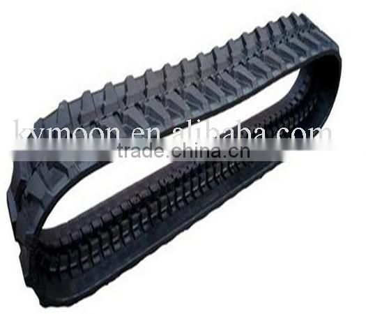 spare parts for agricultural machinery, rubber crawler track for Farm equipment (450*84*links)
